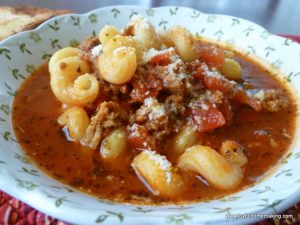 Yummy Lasagna Soup