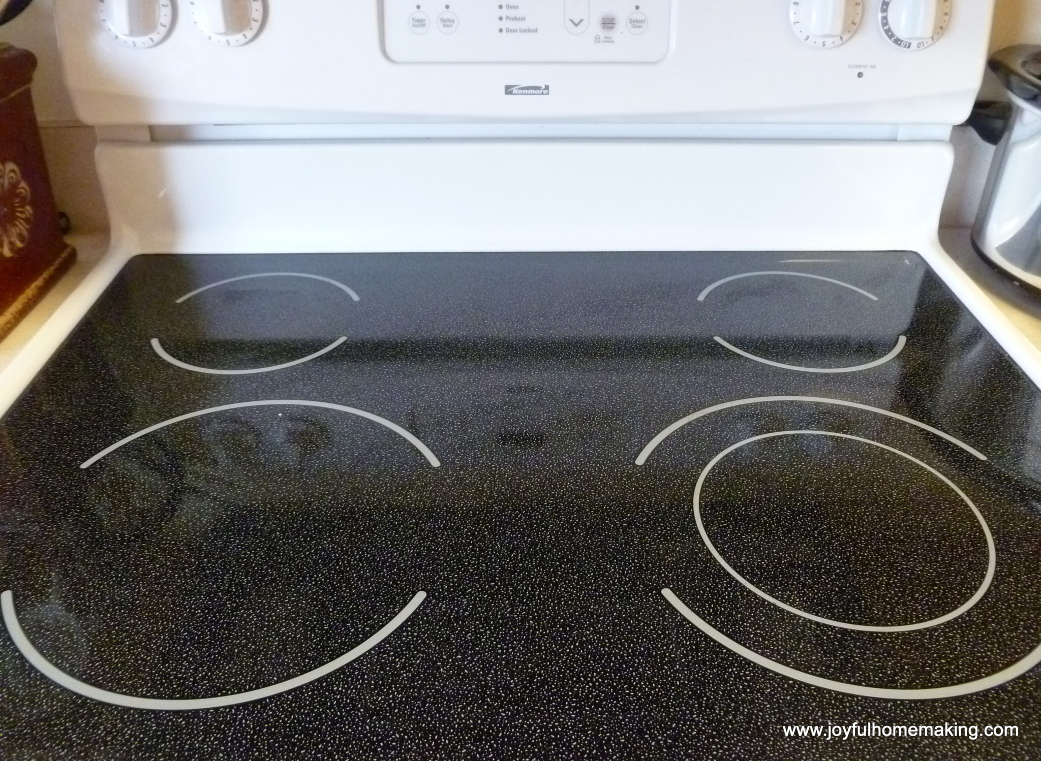 How to Clean a Stove Top Made of Glass » Joyful Homemaking