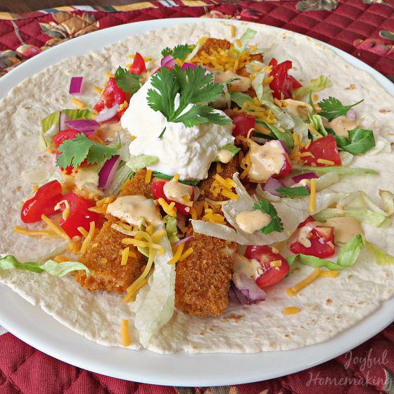 Dinner ideas for the week joyful homemaking for Fish meal ideas