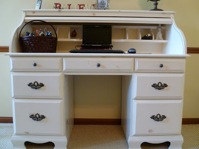 , Update a Desk with Spray Paint, Joyful Homemaking