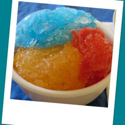 Homemade Shaved Ice