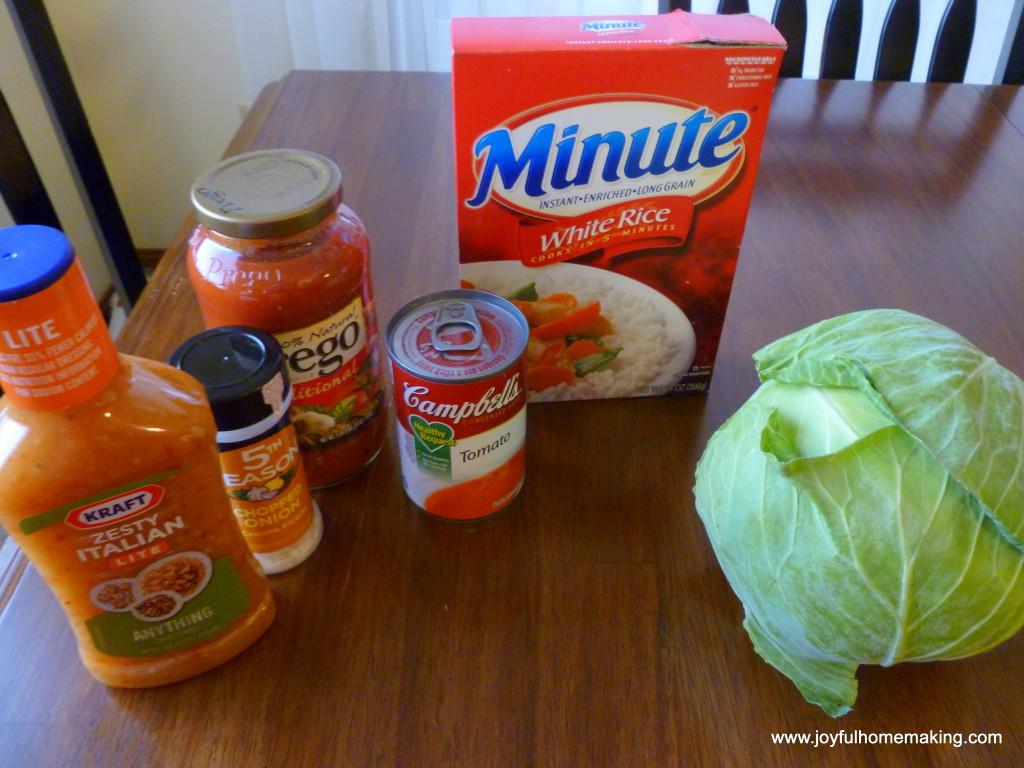 cabbage roll casserole, Cabbage Roll Casserole, Joyful Homemaking