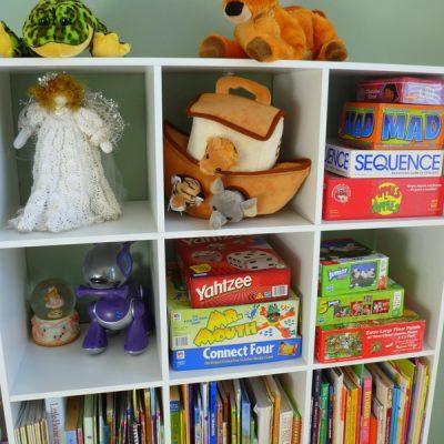 Daughter's Room Organization Part 2