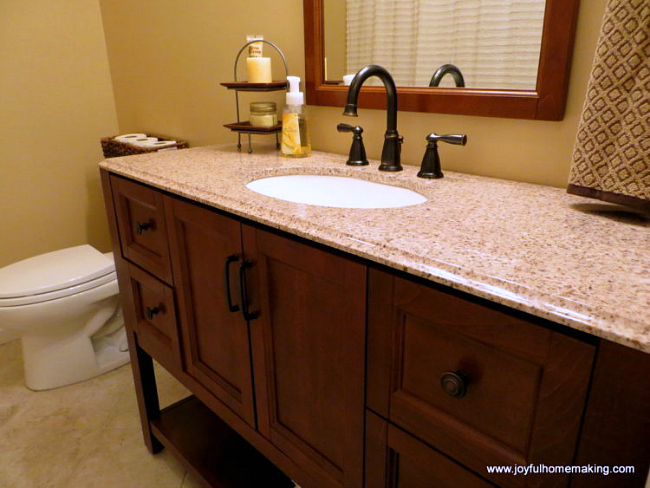 Bathroom Ideas, Bathroom Redo, Joyful Homemaking