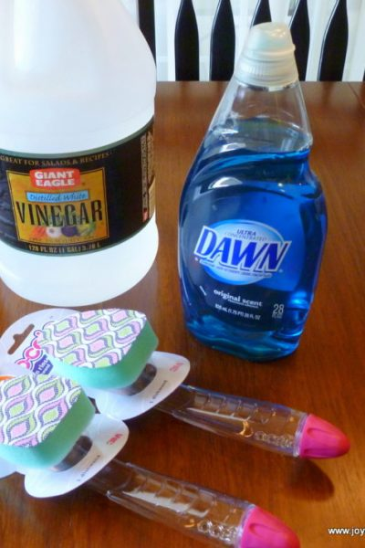 , How to Clean a Garbage Can, Joyful Homemaking