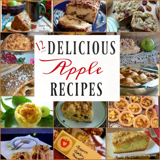 Apple Recipes, Apple Recipes, Joyful Homemaking