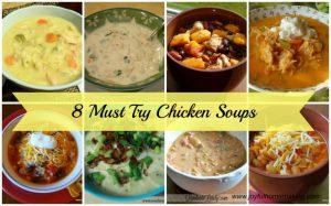 Chicken Soup Recipes, Chicken Soup Recipes, Joyful Homemaking