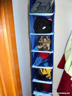 Organizing with Shoe Bags, Joyful Homemaking