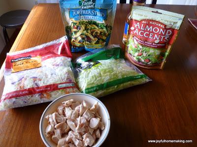 Asian Chicken Salad, Joyful Homemaking