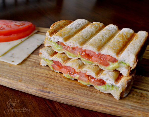 Avocado & Tomato Monterey Jack Grilled Cheese