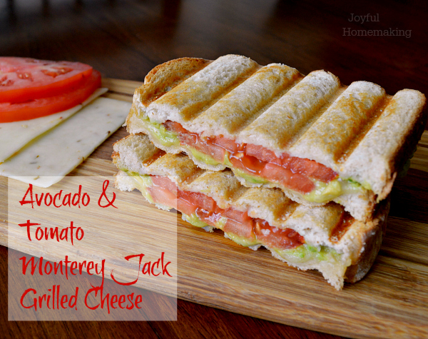 Avocado & Tomato Monterey Jack Grilled Cheese2
