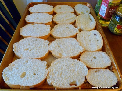 BLT Bruschetta, Joyful Homemaking