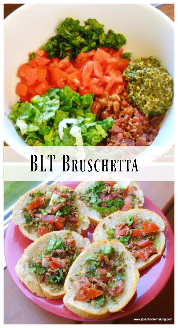 BLT Bruschetta