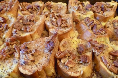Baked French Toast with Caramel Glaze, Joyful Homemaking