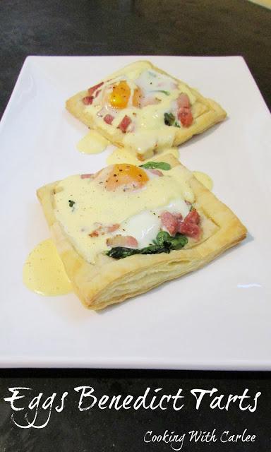 Eggs Benedict Tarts