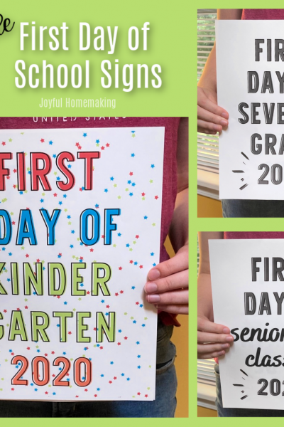 , Free School Schedule Printables, Joyful Homemaking