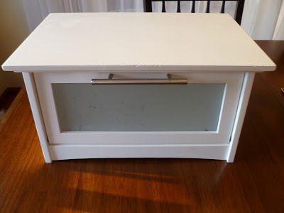 breadbox turned charging station, Breadbox Turned Charging Station, Joyful Homemaking
