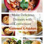 Menu Plan Using Canned Chicken Breast