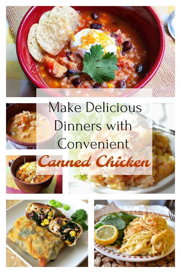 Delicious Dinners with Canned Chicken
