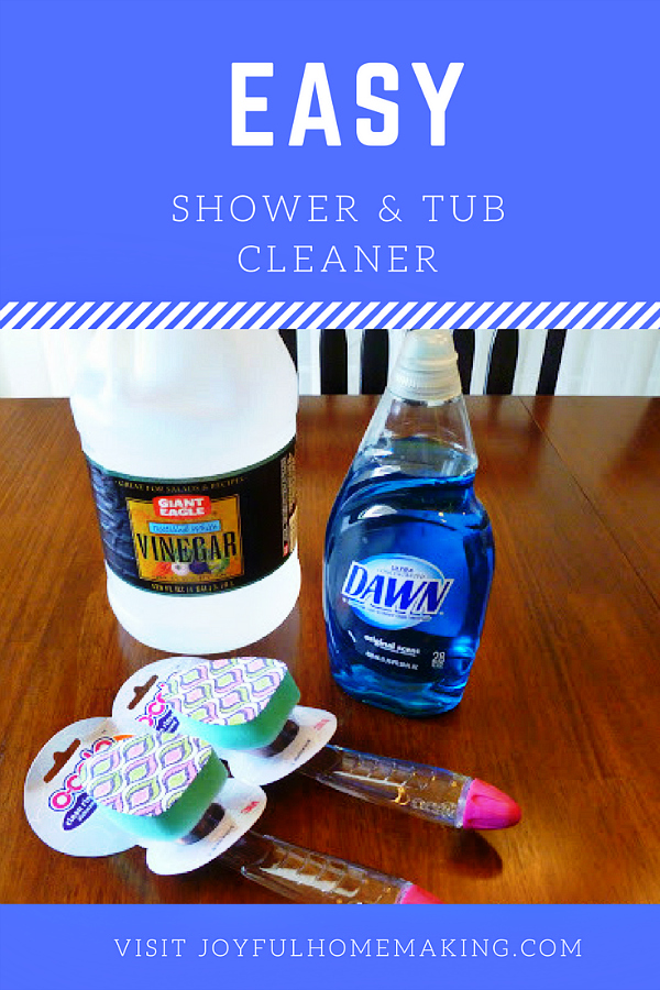 Easy Shower and Tub Cleaner