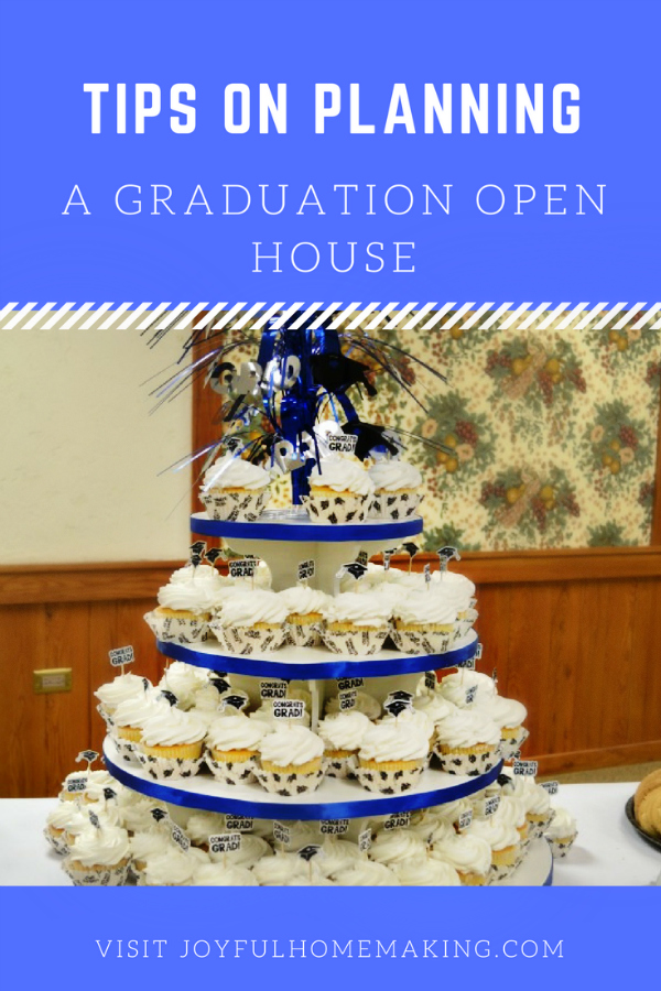 Planning a Graduation Open House