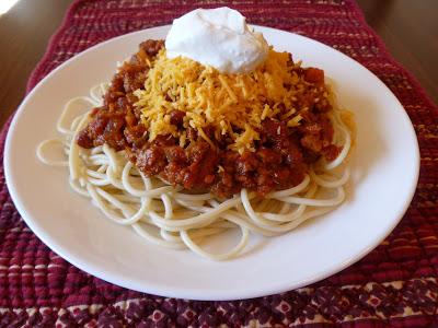 chili spaghetti, Chili Spaghetti,