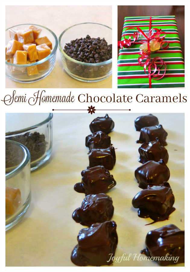 DIY Chocolate Caramels