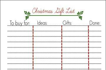 Christmas-list-printable