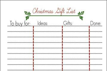 Christmas-list-printable