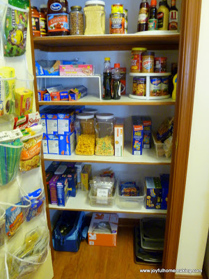 Cleaning Up the Pantry, Joyful Homemaking