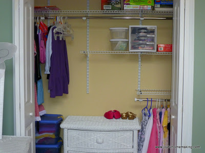 Closet Organization Update, Joyful Homemaking