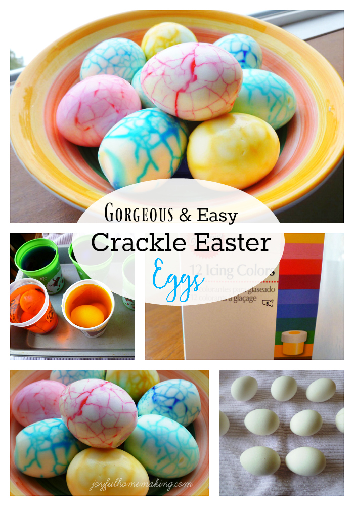 Crackle Easter Eggs