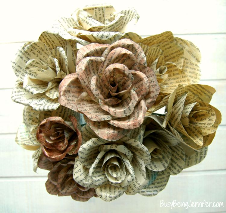 DIY-Book-Page-Flowers-2
