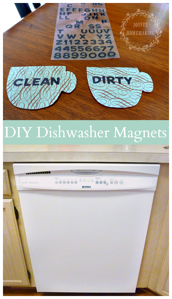 """Clean"" or ""Dirty"" Dishwasher Magnets"