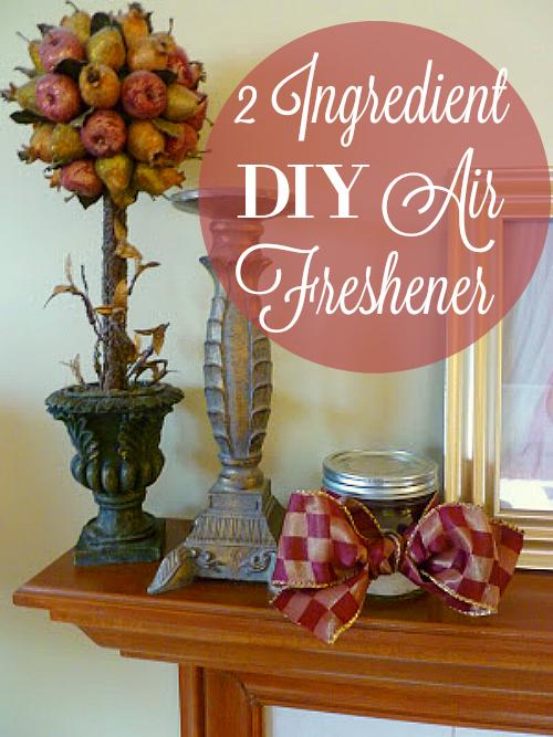 DIY Air Freshener, Cleaning and Sweetening Your Home, Joyful Homemaking
