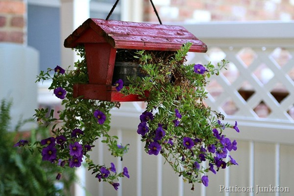 Bird Feeder Flower Pot