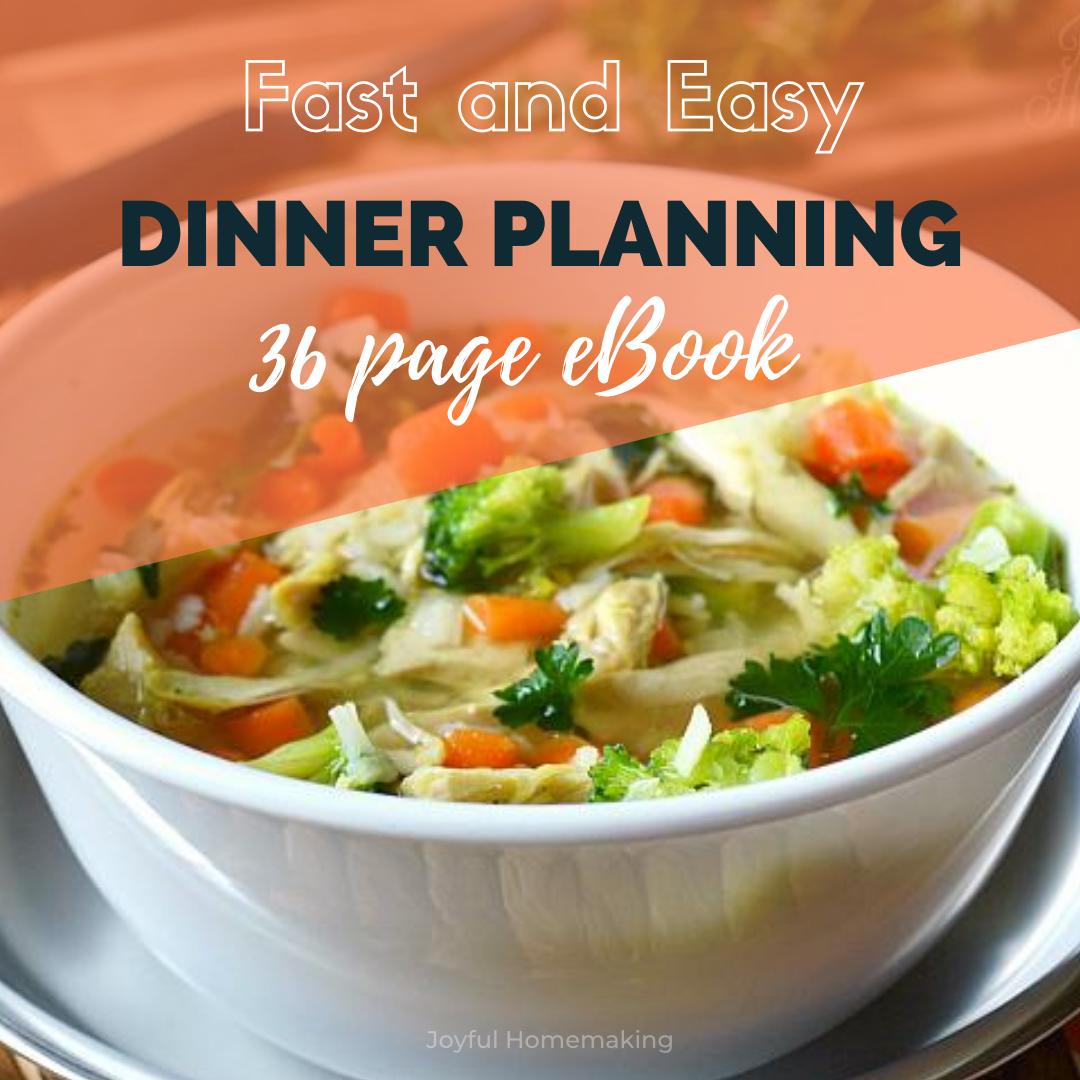 Fast Dinner Planning