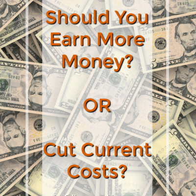 Make Money or Save Money? Plus, 25 Practical Ways to Save!