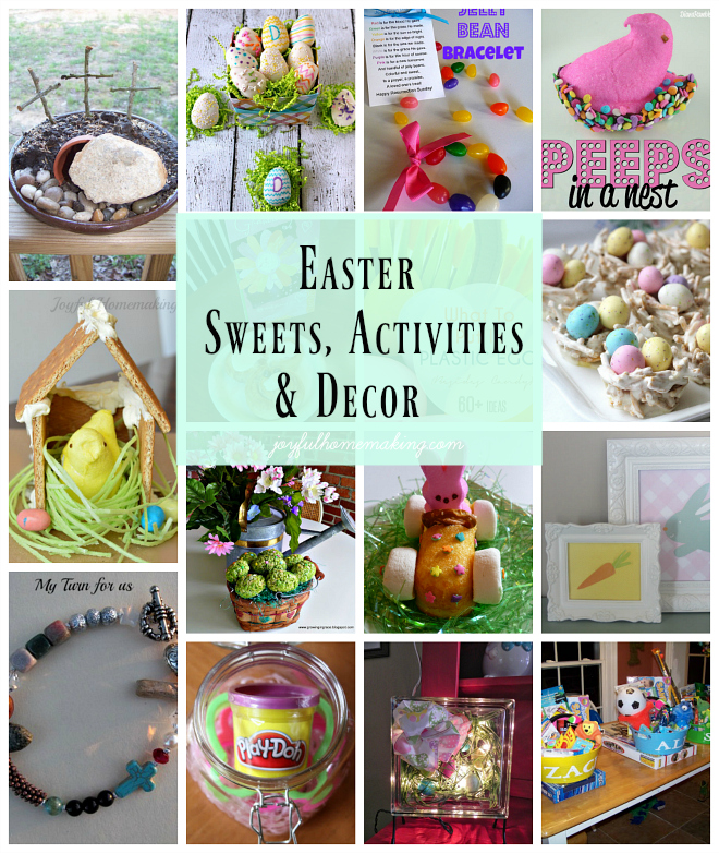 Easter Sweets, Activities and Decor Ideas