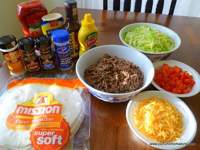 Cheeseburger Quesadillas, Easy Cheeseburger Quesadillas, Joyful Homemaking