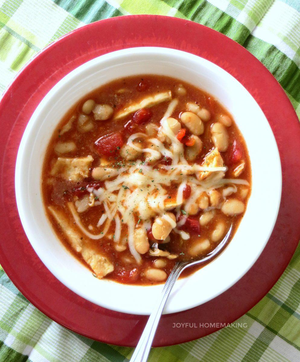 chicken chili, Chicken Chili, Joyful Homemaking