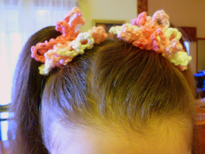 crocheted scrunchie, Easy Crochet Scrunchie, Joyful Homemaking