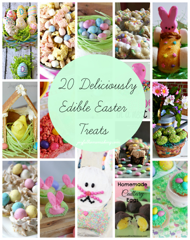 20 Deliciously Edible Easter Treats