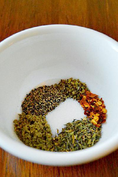 flavoring ground turkey with spices