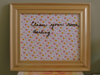 , Framed Dry Erase Board, Joyful Homemaking