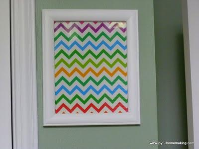 , Frugal Artwork and a Fail, Joyful Homemaking