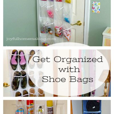 Organizing with Shoe Bags