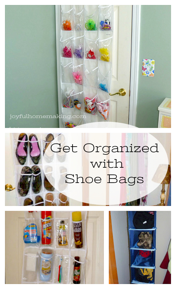 Get Organized with Shoe Bags