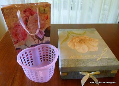 gift idea foot care gift basket, Gift Idea for Mother's Day, Joyful Homemaking