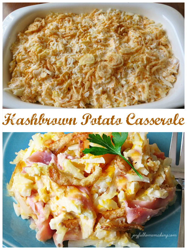 Hashbrown Potato Casserole